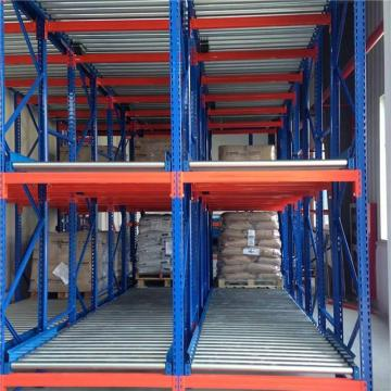 Warehouse Metal Roll Storage Cage Rack with wheel