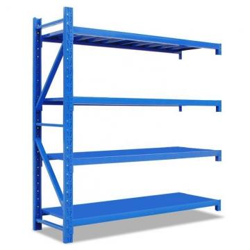 Double Sided Metal Supermarket Display Rack Grocery Shelf